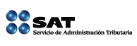 Logo del SAT