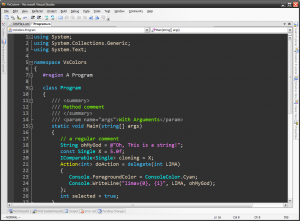 Ragnarok Grey - Visual Studio