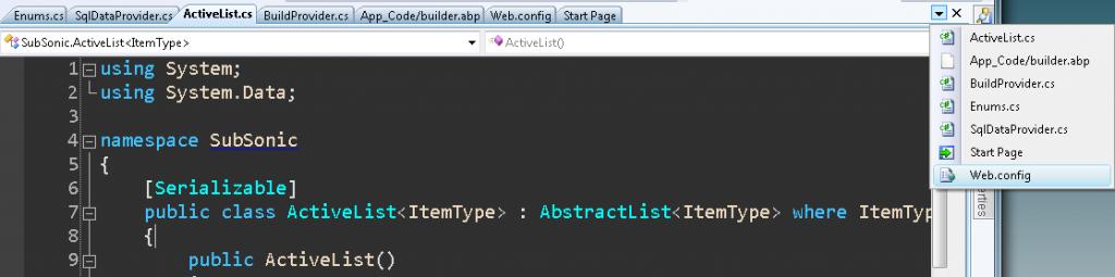 Visual Studio - Simular click en boton de documentos activos