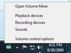 Paso 2 - Open Volume Mixer