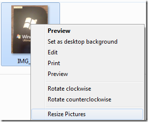 Image Resizer Powertoy para Windows 7