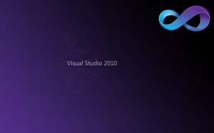 Visual Studio Wallpaper