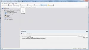 Buscar iTunesDB en el textbox de búsqueda de iFunBox